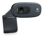 Камера Web Logitech HD Webcam C270 черный USB2.0 с микрофоном