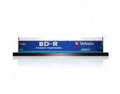 Диск BD-R Verbatim 25Gb 6x Cake Box (10шт) Printable Light Scribe (43804)