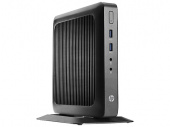 Тонкий Клиент HP Flexible t520 slim GX-212JC (1.2)/4Gb/SSD16Gb/HD/Windows Embedded Standard 7 32/GbitEth/65W/клавиатура/мышь/черный
