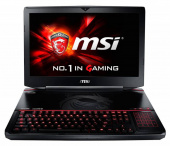 "Ноутбук MSI GT80S 6QF(Titan SLI)-212RU Core i7 6920HQ/32Gb/1Tb/SSD512Gb/Blu-Ray/nVidia GeForce GTX 980M 8Gb/18.4""/FHD (1920x1080)/Windows 10/black/WiFi/BT/Cam"