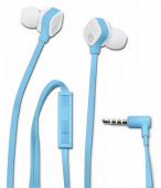 Гарнитура вкладыши HP In-Ear H2310 1.5м голубой проводные (в ушной раковине)