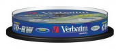 Диск CD-RW Verbatim 700Mb 10x Cake Box (10шт) (43480)