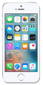 "Смартфон Apple iPhone SE MLLP2RU/A 16Gb серебристый моноблок 3G 4G 4"" 640x1136 iPhone iOS 9 12Mpix WiFi BT GSM900/1800 GSM1900 TouchSc MP3 A-GPS"