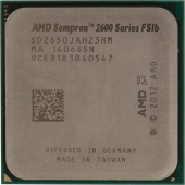 Процессор AMD Sempron 2650 AM1 (SD2650JAH23HM) (1.45GHz/AMD Radeon HD 8240) OEM