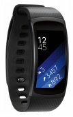"Смарт-часы Samsung Galaxy Gear Fit 2 SM-R360 1.5"" Super AMOLED темно-серый (SM-R3600DAASER)"