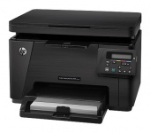 МФУ лазерный HP Color LaserJet M176n A4 черный
