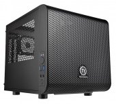 Корпус Thermaltake Core V1 черный без БП miniITX 1x200mm 2xUSB3.0 audio bott PSU