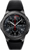"Смарт-часы Samsung Galaxy Gear S3 Frontier SM-R760 1.3"" Super AMOLED темно-серый (SM-R760NDAASER)"