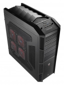 Корпус Aerocool XPredator черный без БП ATX 2x200mm 3xUSB2.0 1xUSB3.0 1xE-SATA audio bott PSU