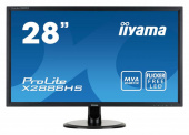 "Монитор Iiyama 28"" X2888HS-B2 черный MVA LED 5ms 16:9 DVI HDMI M/M матовая 300cd 178гр/178гр 1920x1080 D-Sub DisplayPort FHD 5.3кг"