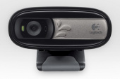 Камера Web Logitech WebCam C170 черный 0.3Mpix USB2.0 с микрофоном
