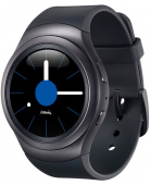 "Смарт-часы Samsung Galaxy Gear S2 SM-R7200 1.2"" Super AMOLED темно-серый (SM-R7200ZKASER)"