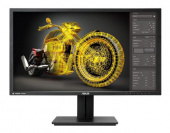 "Монитор Asus 28"" PB287Q 4K черный LED 1ms 16:9 HDMI M/M матовая HAS Pivot 100000000:1 300cd 3840x2160 DisplayPort Ultra HD 7.9кг"
