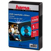 Коробка Hama на 1CD/DVD H-51180 Slim Box